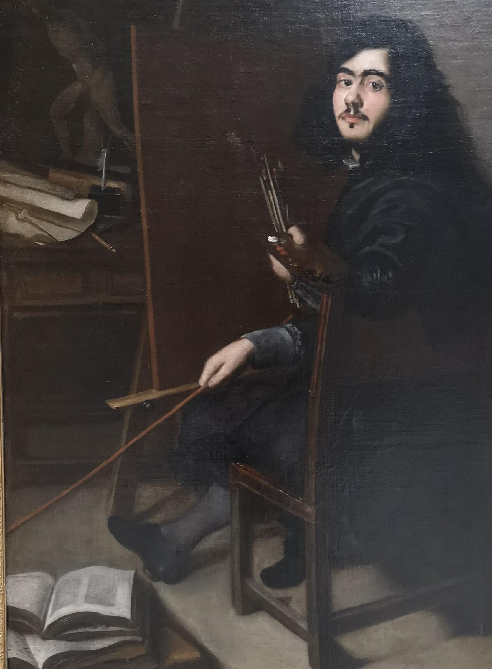 Selvportræt. Pedro de Moya, (1610 – 1666)
