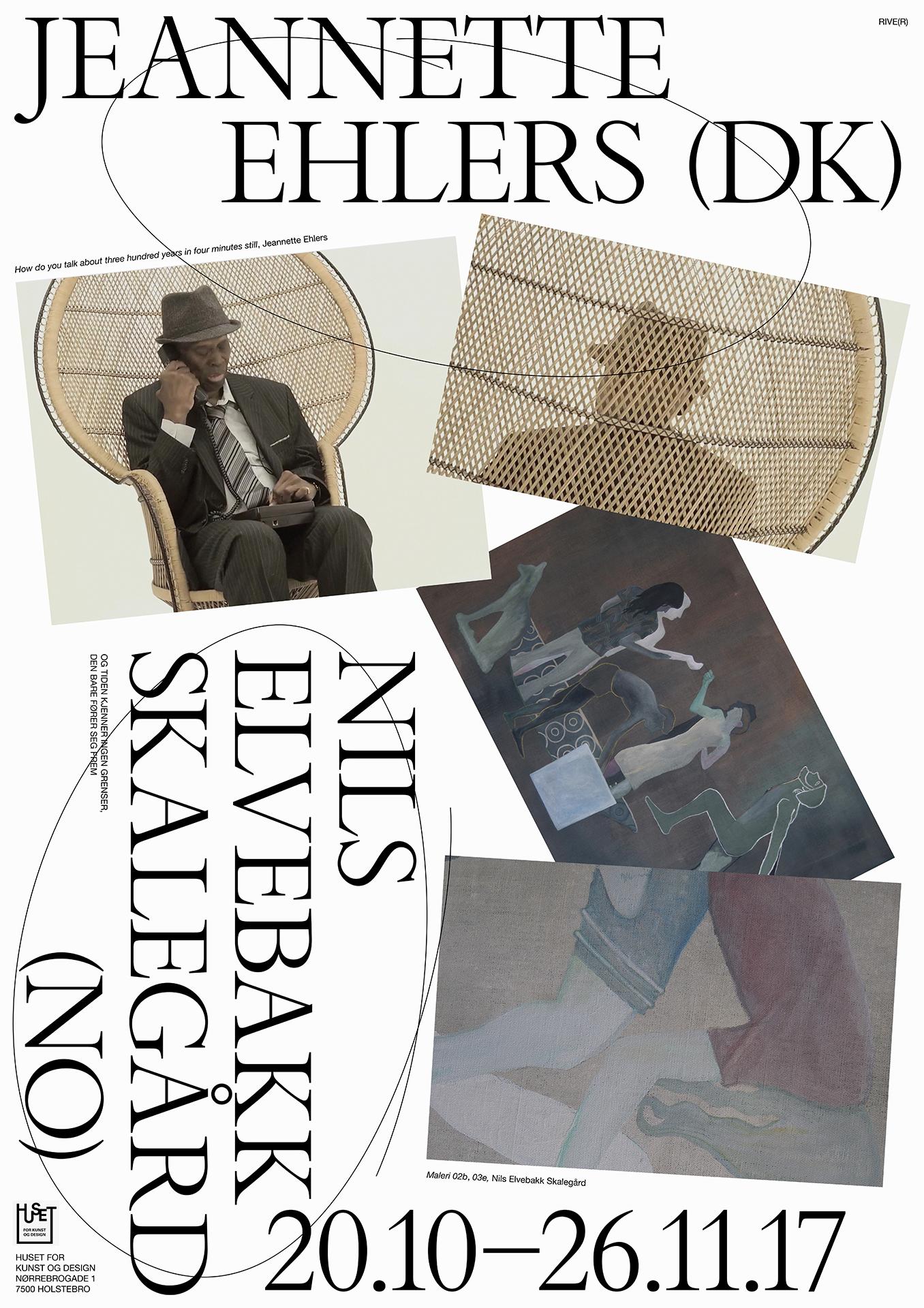 Tekst af Lisbet Mogensen om Jeanette Ehlers til udstilling på Huset for Kunst og Design i Holstebro