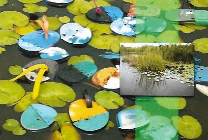 Patrick Tagoe-Turkson, The Floating Slipper Lilies Intervention Project.